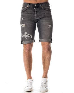 501 Original Cutoff Short Black Hawaii