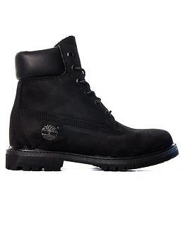 6 Inch Premium Black Boot