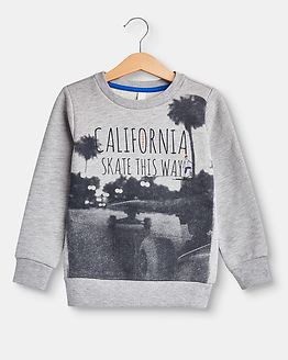 California Sweatshirt Grey