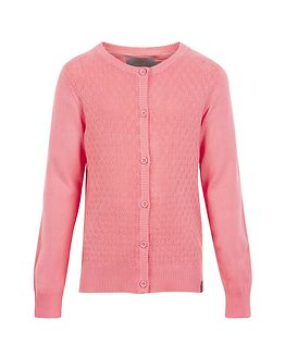 Mijanne Point Cardigan Salmon Rose