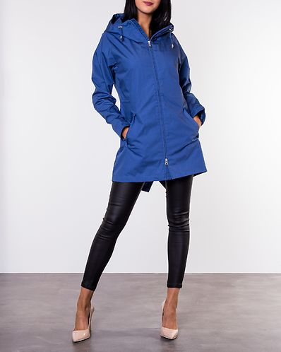 Fishtail Jacket Blue 853309d741