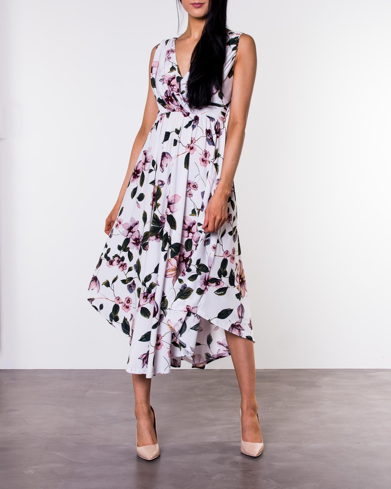 a4381b63 Chiara Forthi, Valeria Dress Floral   Women's Evening dresses    HOUSEOFBRANDON.COM
