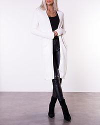 Ril Long Knit Cardigan White Alyssum