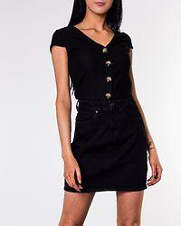 Kathy Short Denim Skirt Black
