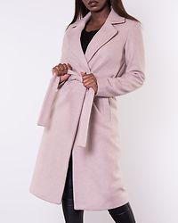 Gina Wool Wrap Coat Humus/Melange