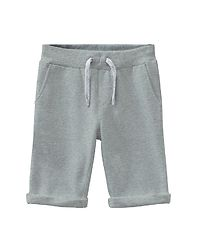 Vermo Long Sweat Shorts Grey Melange