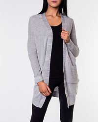 Skylar Knit Cardigan Light Grey Melange
