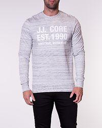 Huke Sweat Crew Neck White Melange/New White
