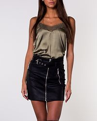 Max Lace Top Olive Night