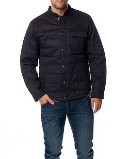 Joel Wax Jacket Dark Navy