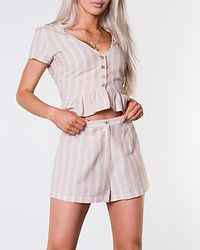 Chiselle Shorts Beige/White/Striped
