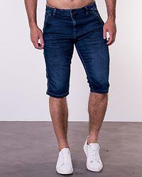 Ray Loose Shorts Blue Denim