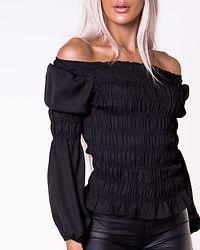 Patricia Smock Top Black