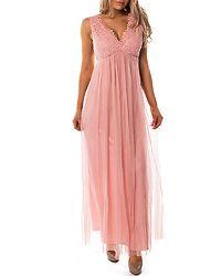 Ulricana Maxi Dress Bridal Rose