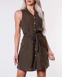Abena Short Shirt Dress Ivy Green
