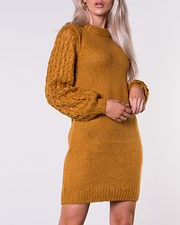 Sara Long Sweater Dark Yellow