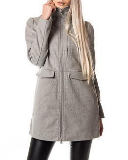 Minna Coat Light Grey Melange