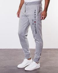 Basic Branded Sweatpants Cloud Heather