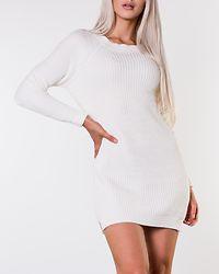 Siesta O-Neck Knit Dress Sugar Swizzle