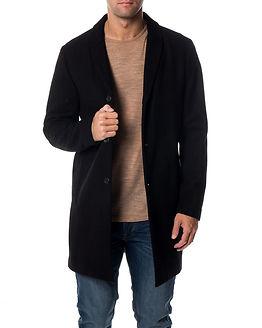 Christian Wool Coat Black