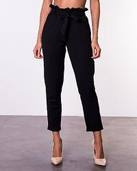 Bonita Soft Paperbag Pant Black