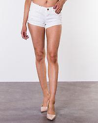 Fran Denim Shorts Bright White