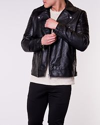 Rocky Biker Jacket Black