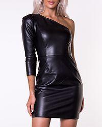 Modaloa Short Coated Dress Black
