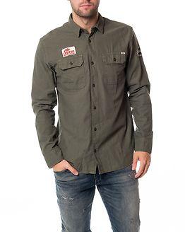 Birmingham Shirt L/S Utility Sea Turtle/Comfort