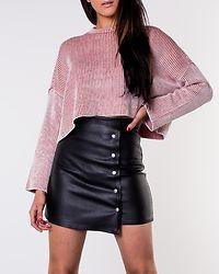 Line Skirt Black