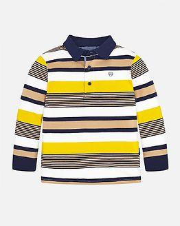 Stripes Polo Gold