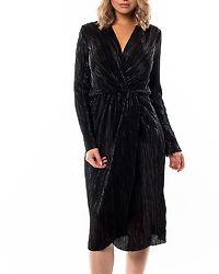 Frances New Knot Dress Black