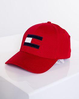 Big Flag Cap Haute Red