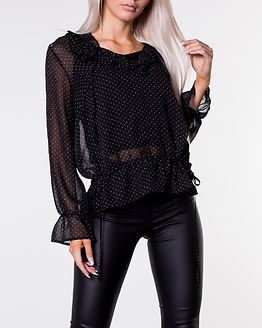 Isla Blouse Dotted/Black