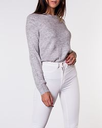 Crea Treats Pullover Knit Light Grey Melange