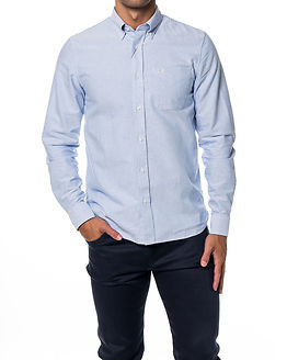 Classic Oxford Shirt Light Smoke