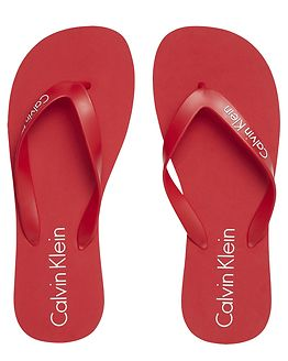 Sandal Solid Racing Red