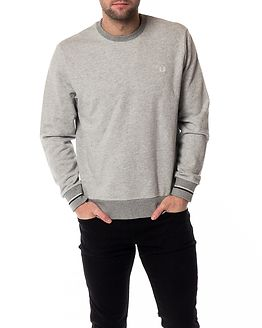 Crew Neck Sweat Vintage Grey
