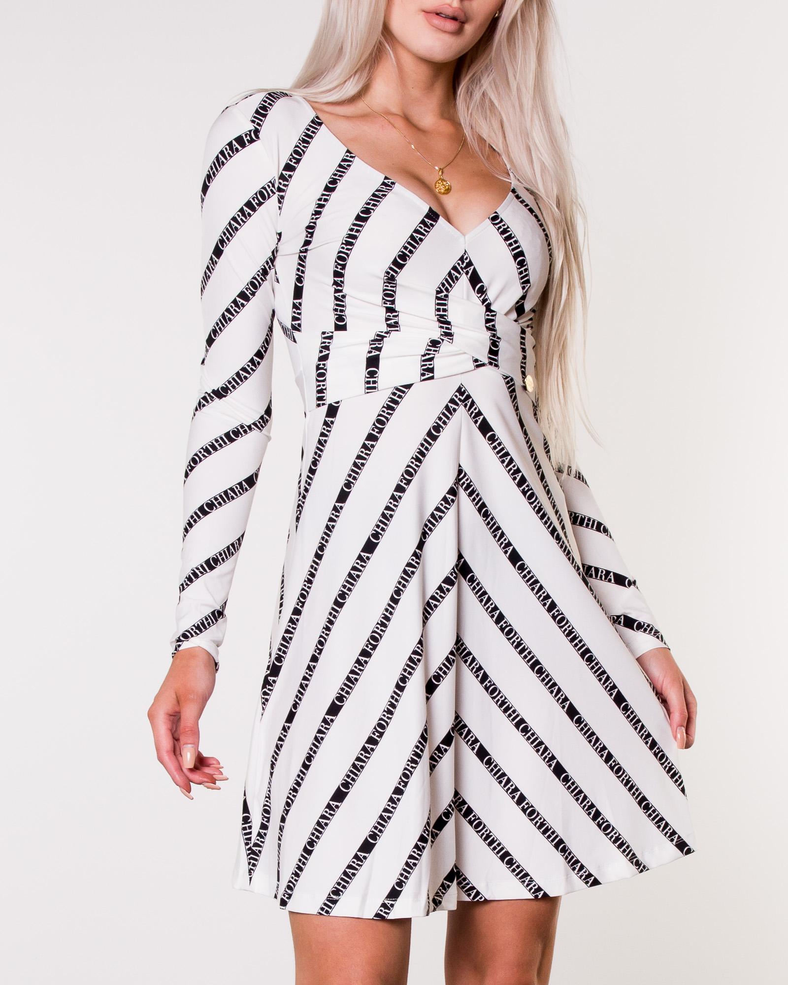 5d4da9c3 Chiara Forthi, Madaloni Dress White/Black   Women's Dresses    HOUSEOFBRANDON.COM