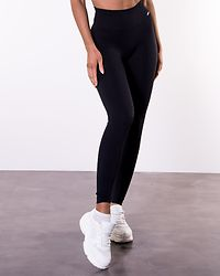 Black Luxe Seamless Tights
