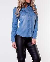 Bista Denim Shirt Medium Blue Denim