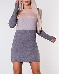 Lillo Dress Knit Mahogany Rose/Melange