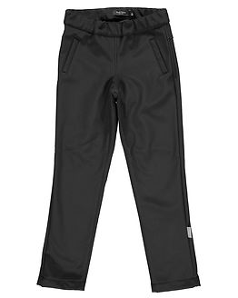 Alfa Softshell Slim Pants Black