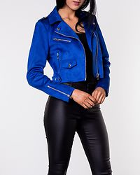 Sherry Cropped Bonded Biker Surf The Web