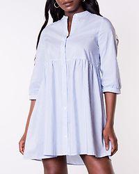Sisi 3/4 Dress Snow White/Cashmere Blue