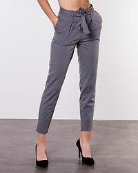 Nicole Paperbag Ankel Pants Light Grey Melange