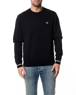 Crew Neck Sweat Black