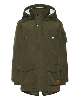Madoc Parka Jacket Forest Night