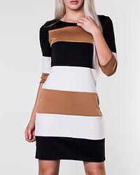 Tinny Blocked Dress Black