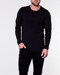 Basic O-Neck Tee Black